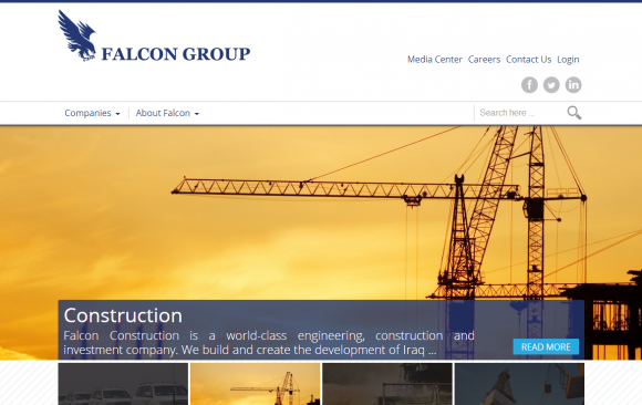 Falcon Group Website