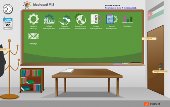 Madrasati website